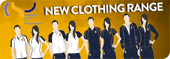 Chartered Society of Physiotherapy Clothing Range